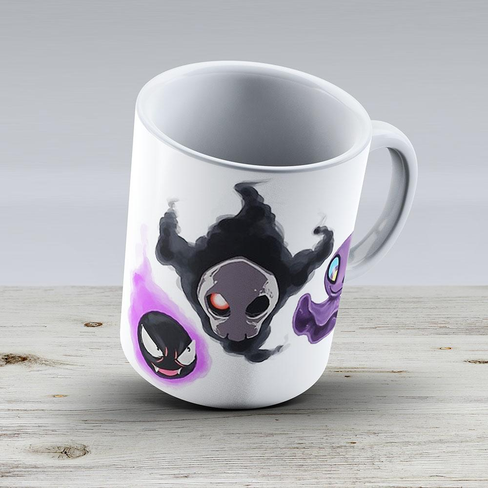 Ghastly Duskull And Shuppet - Ceramic Coffee Mug - Gift Idea For Family And Friends