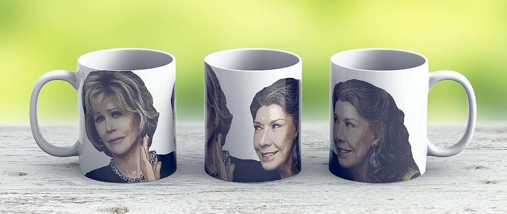 Grace And Frankie 2 - Ceramic Coffee Mug - Gift Idea For Family And Friends