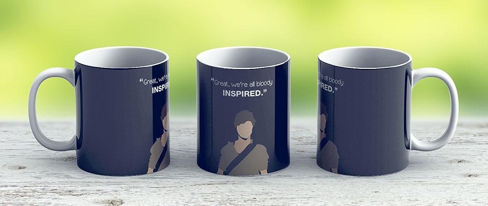 Great Were All Bloody Inspired Newt - The Maze Runner - Ceramic Coffee Mug - Gift Idea For Family And Friends