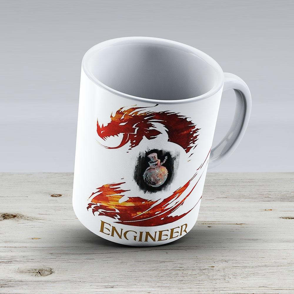 Guild Wars 2 Engineer - Ceramic Coffee Mug - Gift Idea For Family And Friends