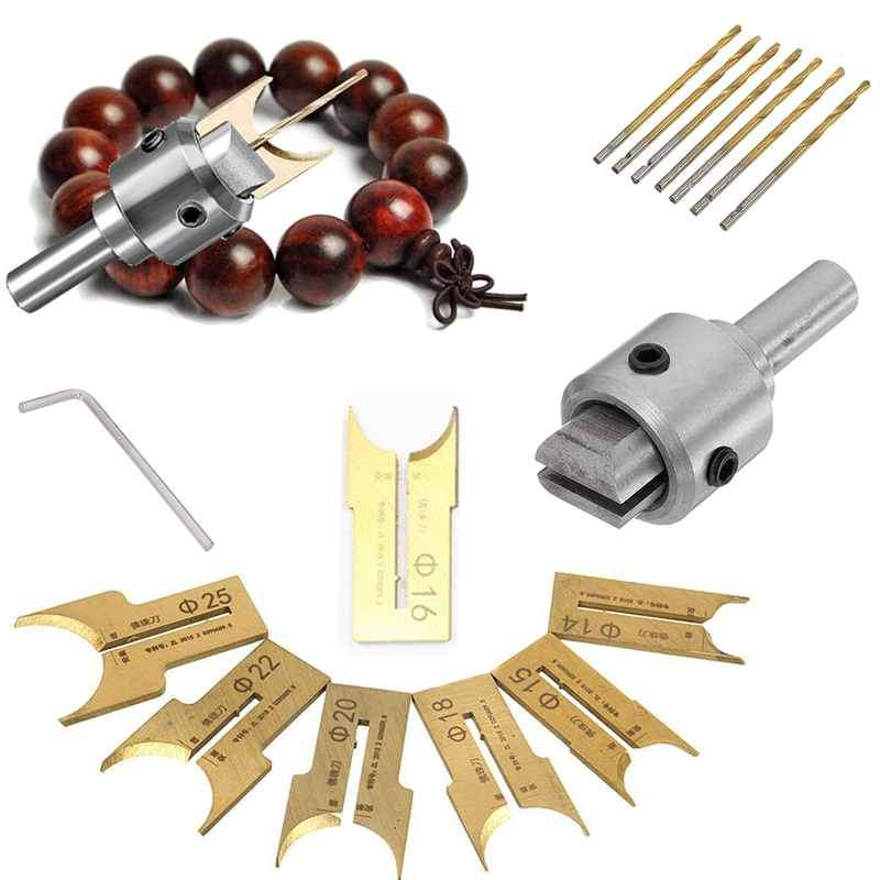 Diy Wooden Beads Making Kit - Beads Drill Bits