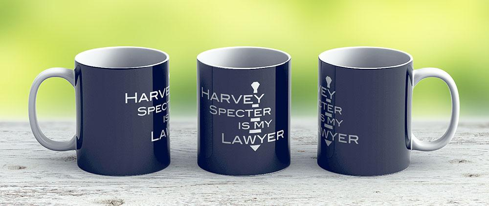 Harvey Specter Is My Lawyer W - Ceramic Coffee Mug - Gift Idea For Family And Friends