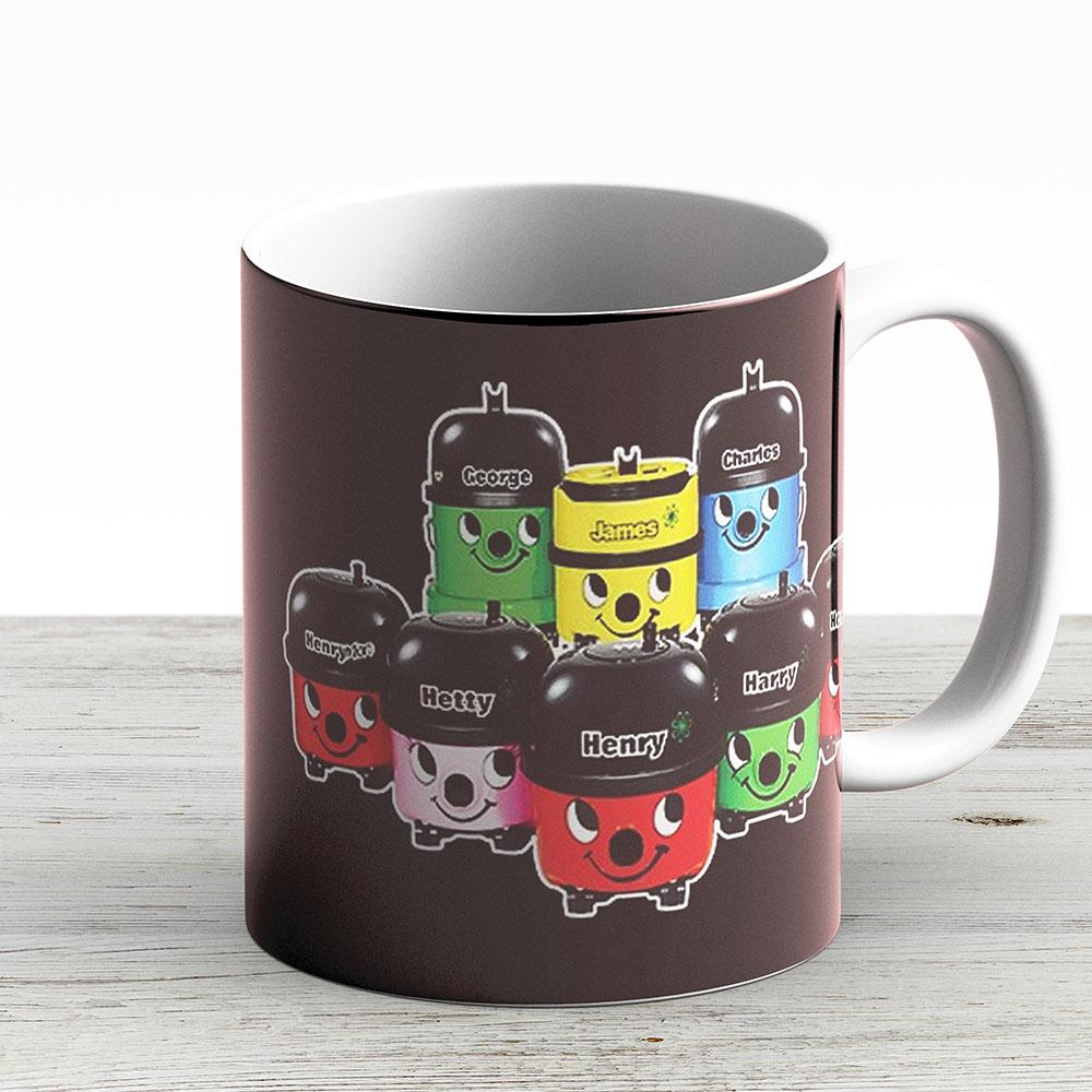 Henry Hoover And Friends - Ceramic Coffee Mug - Gift Idea For Family And Friends