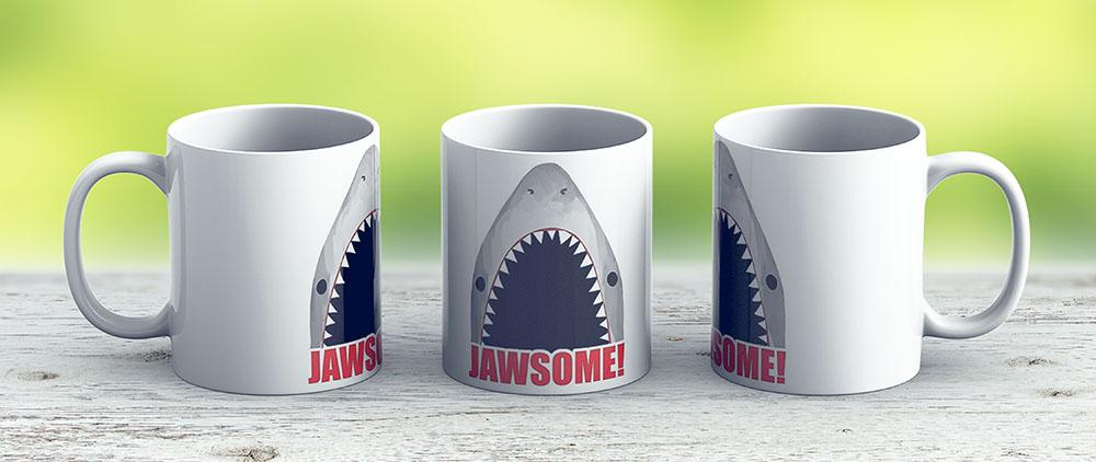 Jawsome - Ceramic Coffee Mug - Gift Idea For Family And Friends