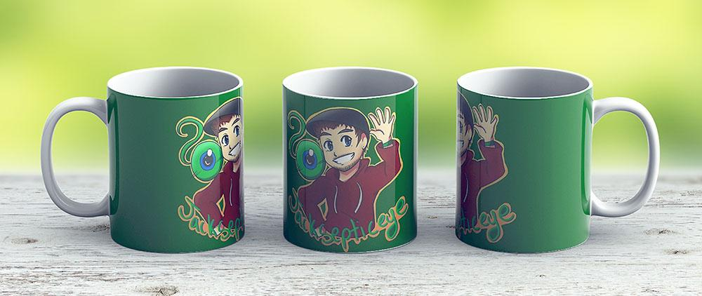 Jacksepticeye - Top Of The Mornin - Ceramic Coffee Mug - Gift Idea For Family And Friends