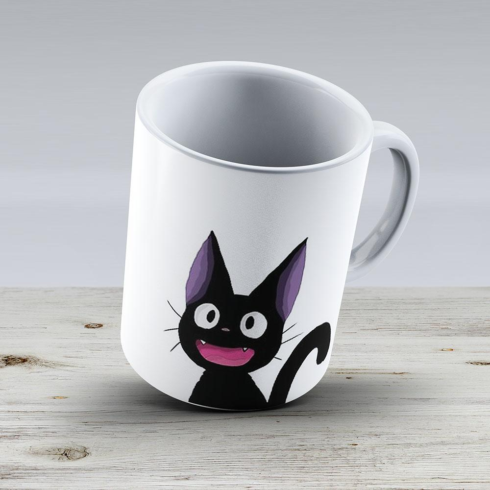 Jiji - Kikis Delivery Service - Ceramic Coffee Mug - Gift Idea For Family And Friends