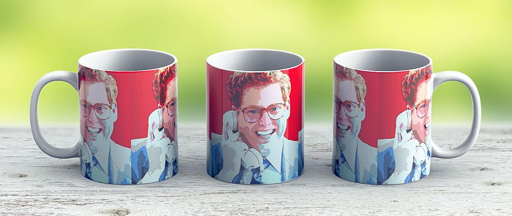 Jonah Hill - Wolf Wallstreet - Ceramic Coffee Mug - Gift Idea For Family And Friends
