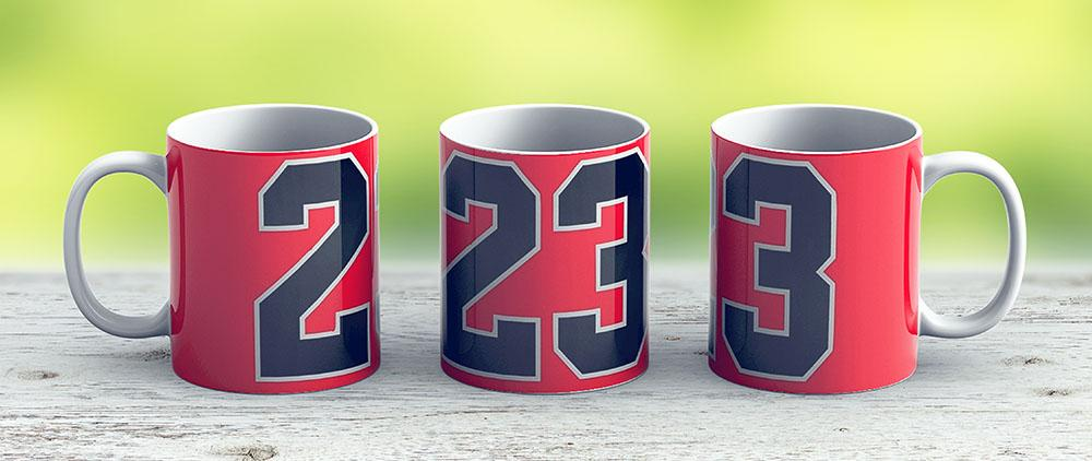 Jordan 23 - Ceramic Coffee Mug - Gift Idea For Family And Friends