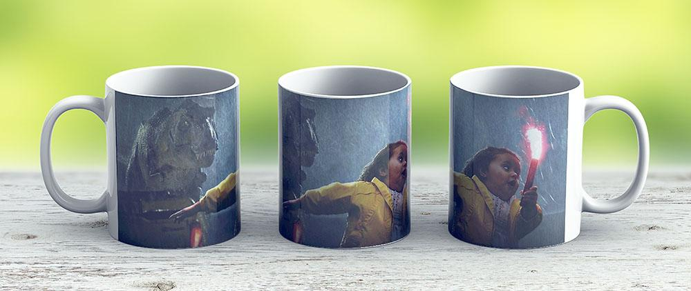 Jurassic Park Dinosaur - Ceramic Coffee Mug - Gift Idea For Family And Friends