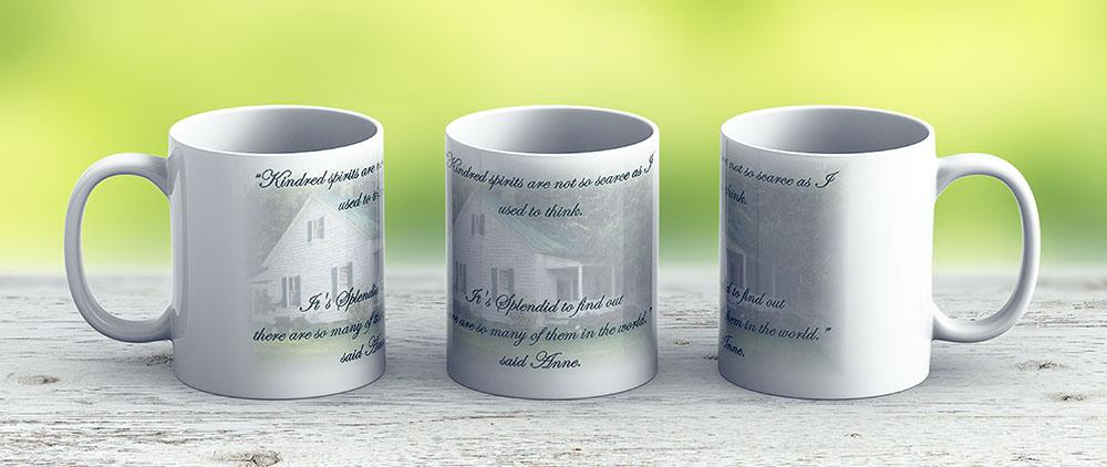 Kindred Spirits - Ceramic Coffee Mug - Gift Idea For Family And Friends