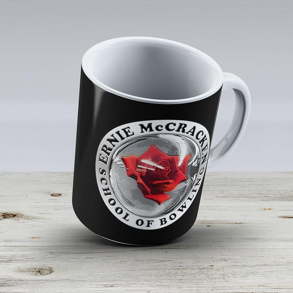Kingpin - Ernie Mccracken School Of Bowling - Ceramic Coffee Mug - Gift Idea For Family And Friends