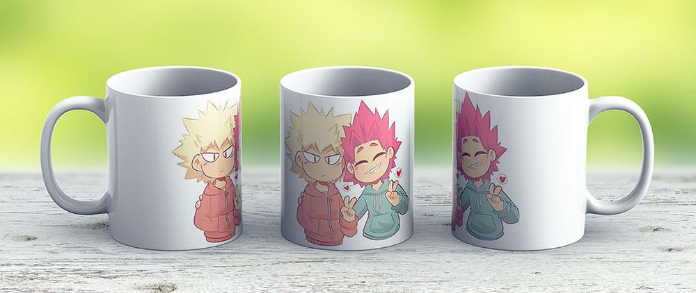 Kiribaku - Ceramic Coffee Mug - Gift Idea For Family And Friends
