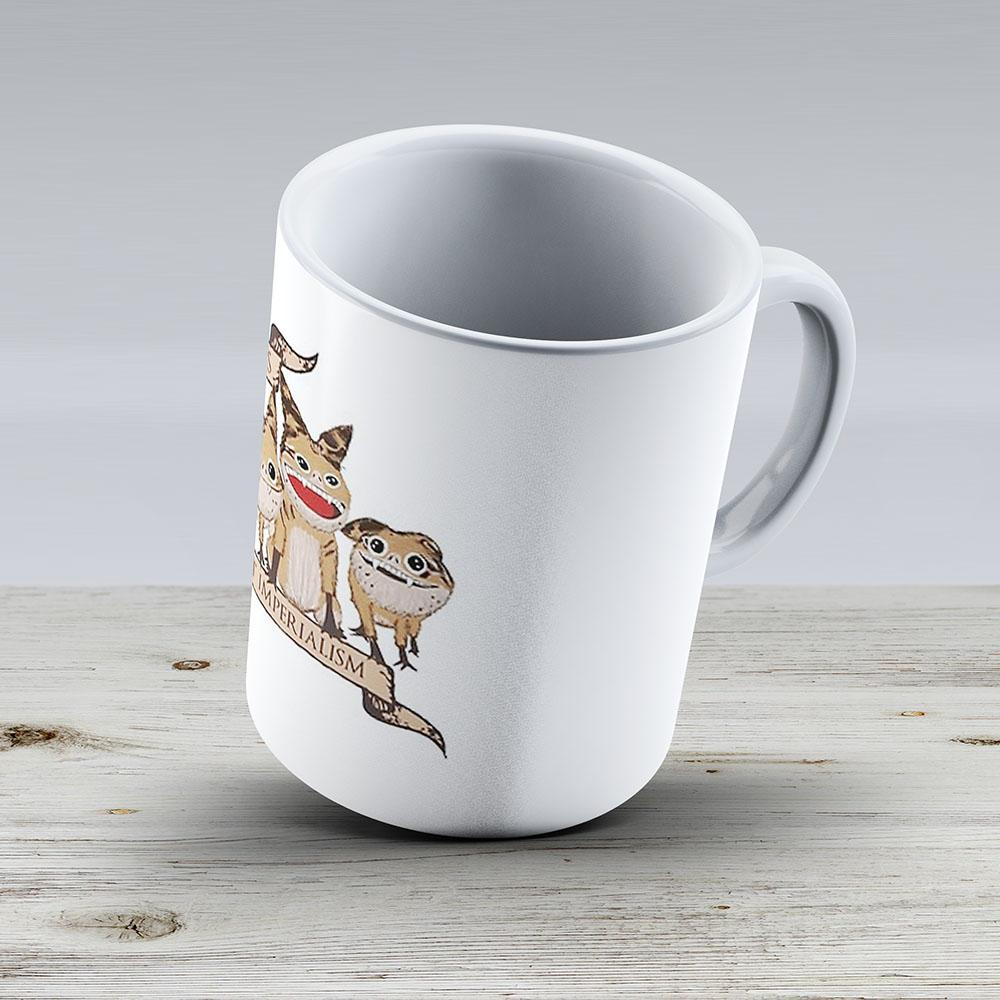 Loth Cats Against Imperialism - Ceramic Coffee Mug - Gift Idea For Family And Friends