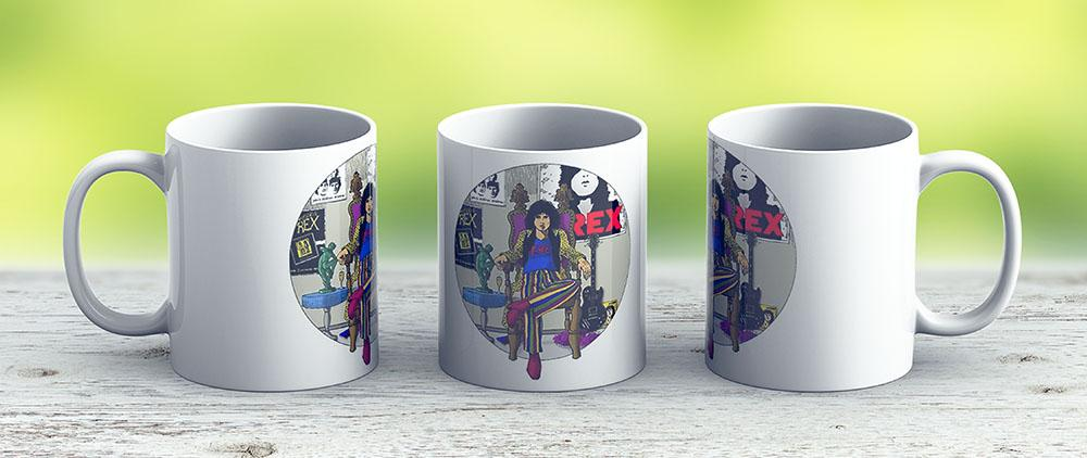 Marc Bolan - 20Th Century Boy - Ceramic Coffee Mug - Gift Idea For Family And Friends