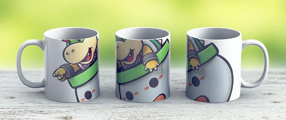 Mario - Bowser Jr - Ceramic Coffee Mug - Gift Idea For Family And Friends