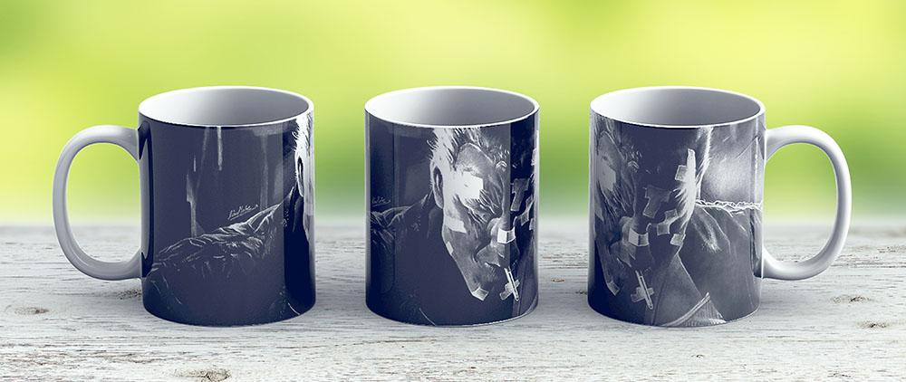 Marv - Sin City - Ceramic Coffee Mug - Gift Idea For Family And Friends