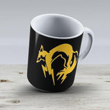Metal Gear Solid - Fox Over Heart - Ceramic Coffee Mug - Gift Idea For Family And Friends