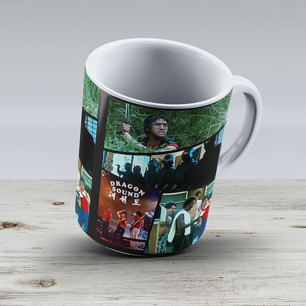 Miami Connection - 80S Montage - Ceramic Coffee Mug - Gift Idea For Family And Friends