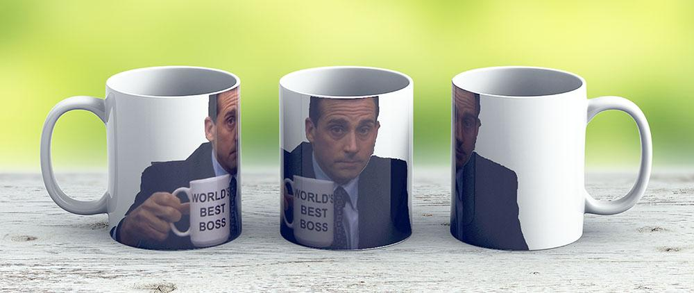 Michael Scott - Ceramic Coffee Mug - Gift Idea For Family And Friends