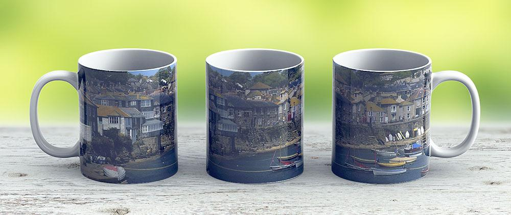 Mousehole Cornwall - Ceramic Coffee Mug - Gift Idea For Family And Friends