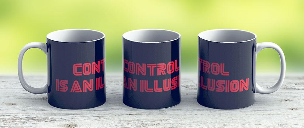 Mr Robot - Control Is An Illusion - Ceramic Coffee Mug - Gift Idea For Family And Friends