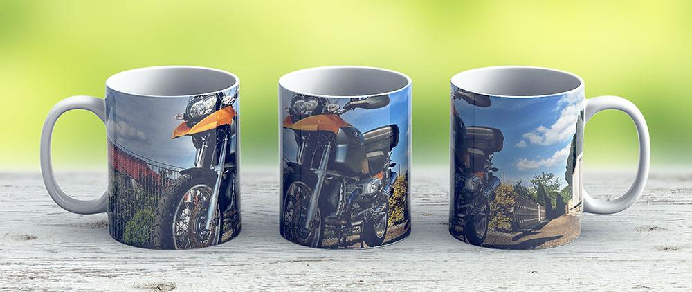 My Bike - Bmw R1200 Gs - Model Year 2006 - Ceramic Coffee Mug - Gift Idea For Family And Friends