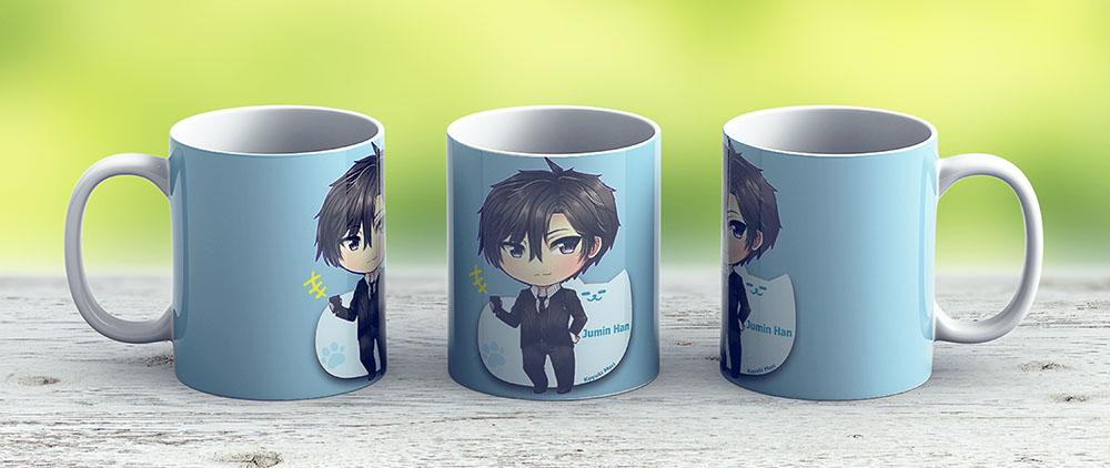 Mystic Messenger Jumin Han - Ceramic Coffee Mug - Gift Idea For Family And Friends