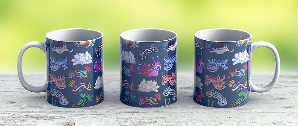 Nudibranch - Ceramic Coffee Mug - Gift Idea For Family And Friends