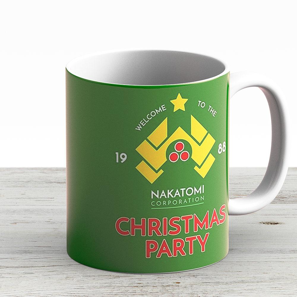 Nakatomi Corp Christmas Party 1988 T- - Ceramic Coffee Mug - Gift Idea For Family And Friends