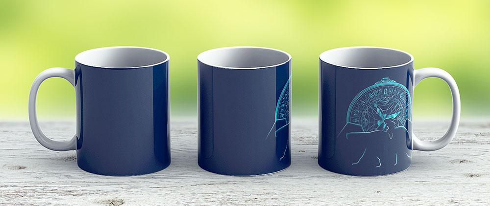 Northern Lights - Ceramic Coffee Mug - Gift Idea For Family And Friends