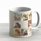 Octopath Traveler Characters - Ceramic Coffee Mug - Gift Idea For Family And Friends