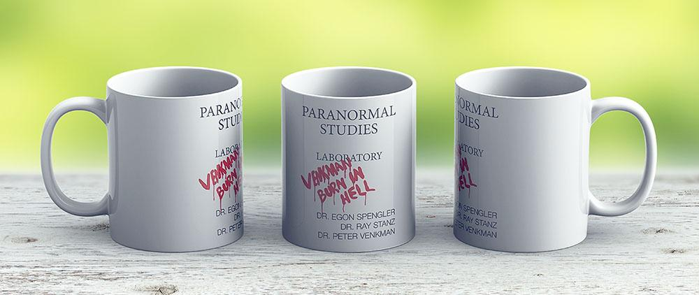 Paranormal Studies Laboratory - Ghostbusters - Ceramic Coffee Mug - Gift Idea For Family And Friends