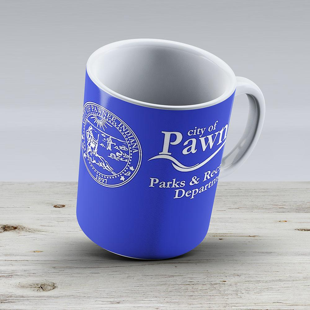 Pawnee Indiana Parks Recreation Department - Ceramic Coffee Mug - Gift Idea For Family And Friends