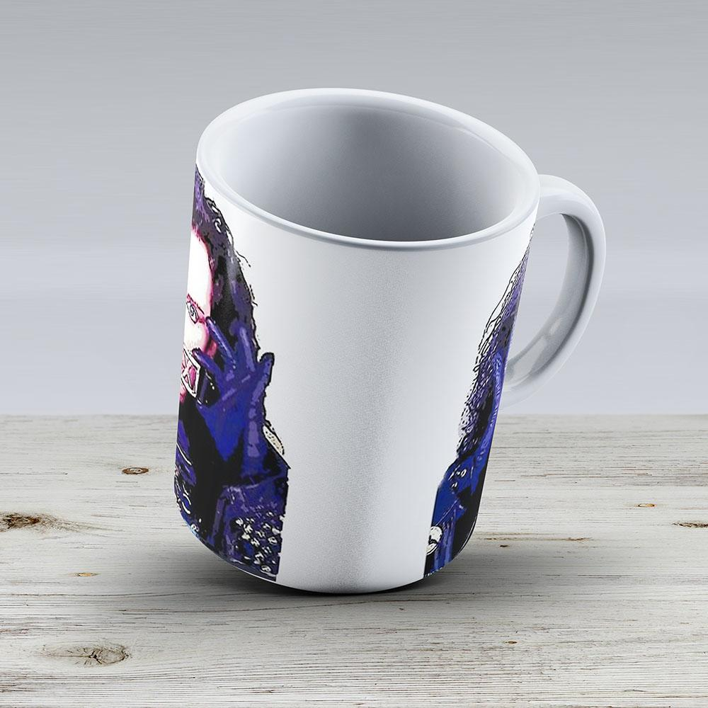 Pete Burns Sex Flowers - Ceramic Coffee Mug - Gift Idea For Family And Friends