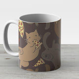 Pizza Cat - Ceramic Coffee Mug - Gift Idea For Family And Friends
