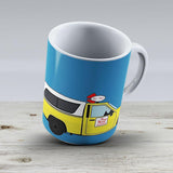 Pizza Planet Truck - Ceramic Coffee Mug - Gift Idea For Family And Friends