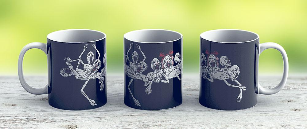 Pocket Messengers From Bloodborne - Ceramic Coffee Mug - Gift Idea For Family And Friends