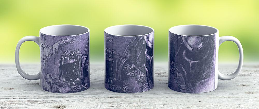 Predator Practise - Ceramic Coffee Mug - Gift Idea For Family And Friends