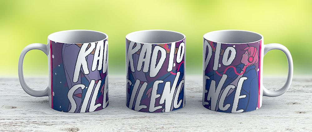 Radio Silence By Alice Oseman - Ceramic Coffee Mug - Gift Idea For Family And Friends