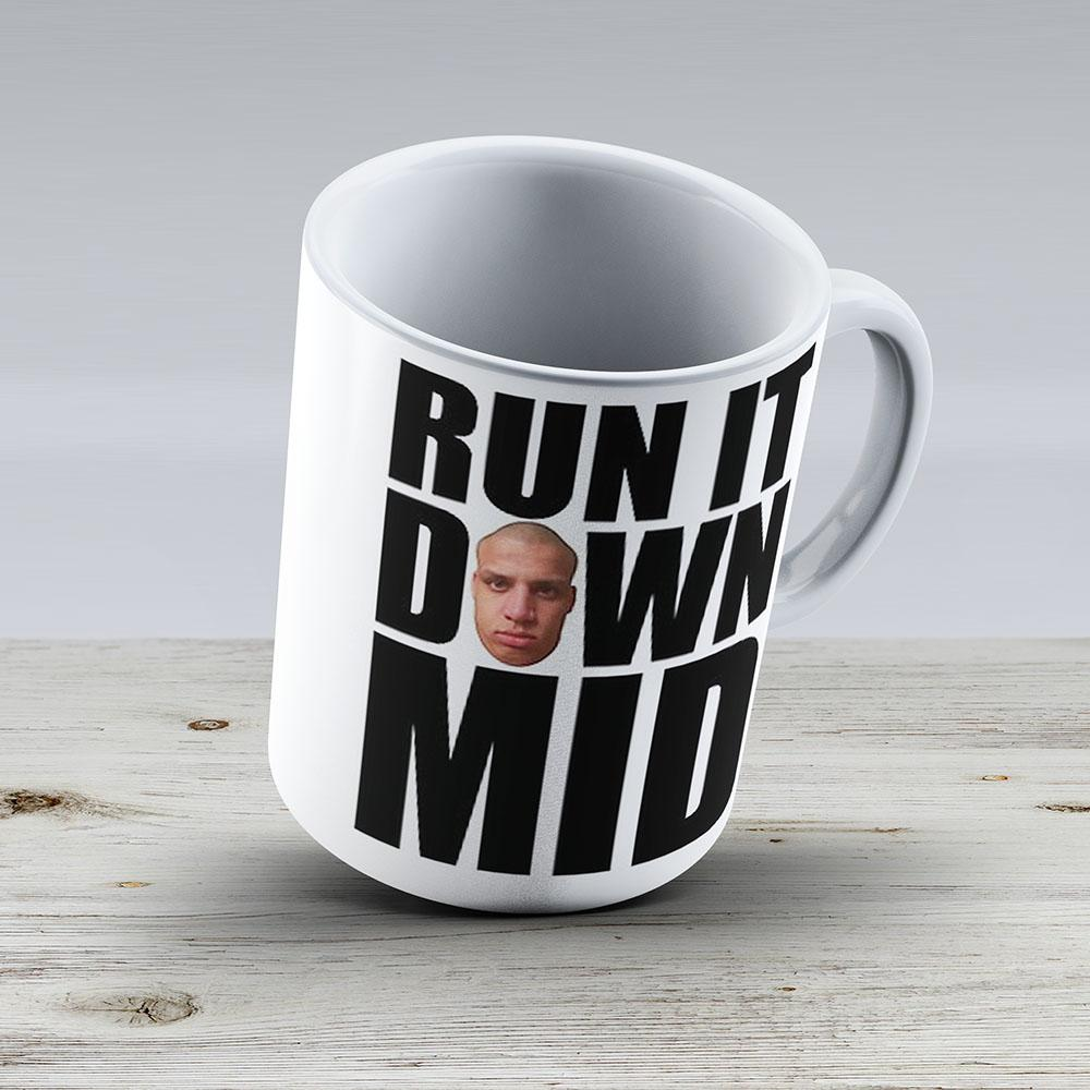 Run It Down Mid - Tyler1 - Ceramic Coffee Mug - Gift Idea For Family And Friends