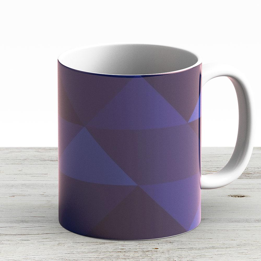 Red Bull Racing F1 Team Geometric Print - Ceramic Coffee Mug - Gift Idea For Family And Friends