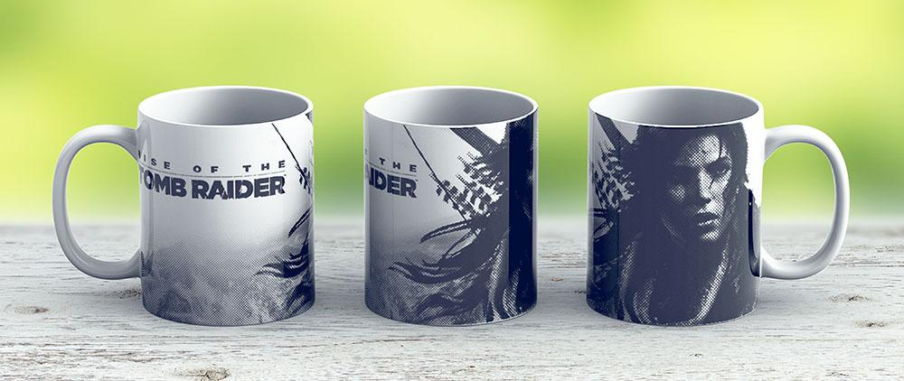 Rise Of The Tomb Raider - Ceramic Coffee Mug - Gift Idea For Family And Friends