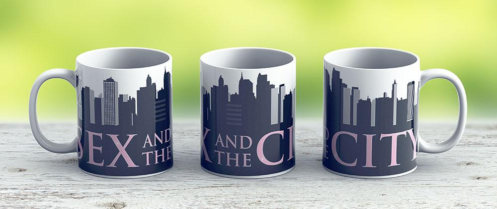 Sex And The City - Satc - Ceramic Coffee Mug - Gift Idea For Family And Friends