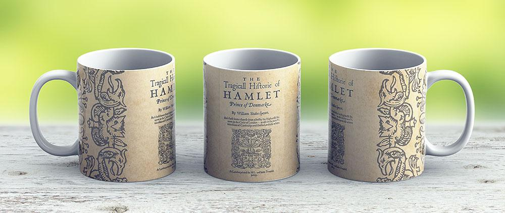 Shakespeare Hamlet 1603 - Ceramic Coffee Mug - Gift Idea For Family And Friends