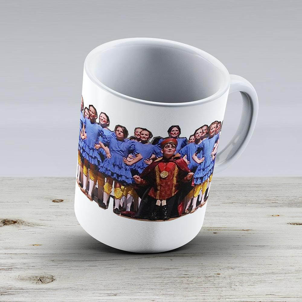 Shrek The Musical Duloc Dancers - Ceramic Coffee Mug - Gift Idea For Family And Friends