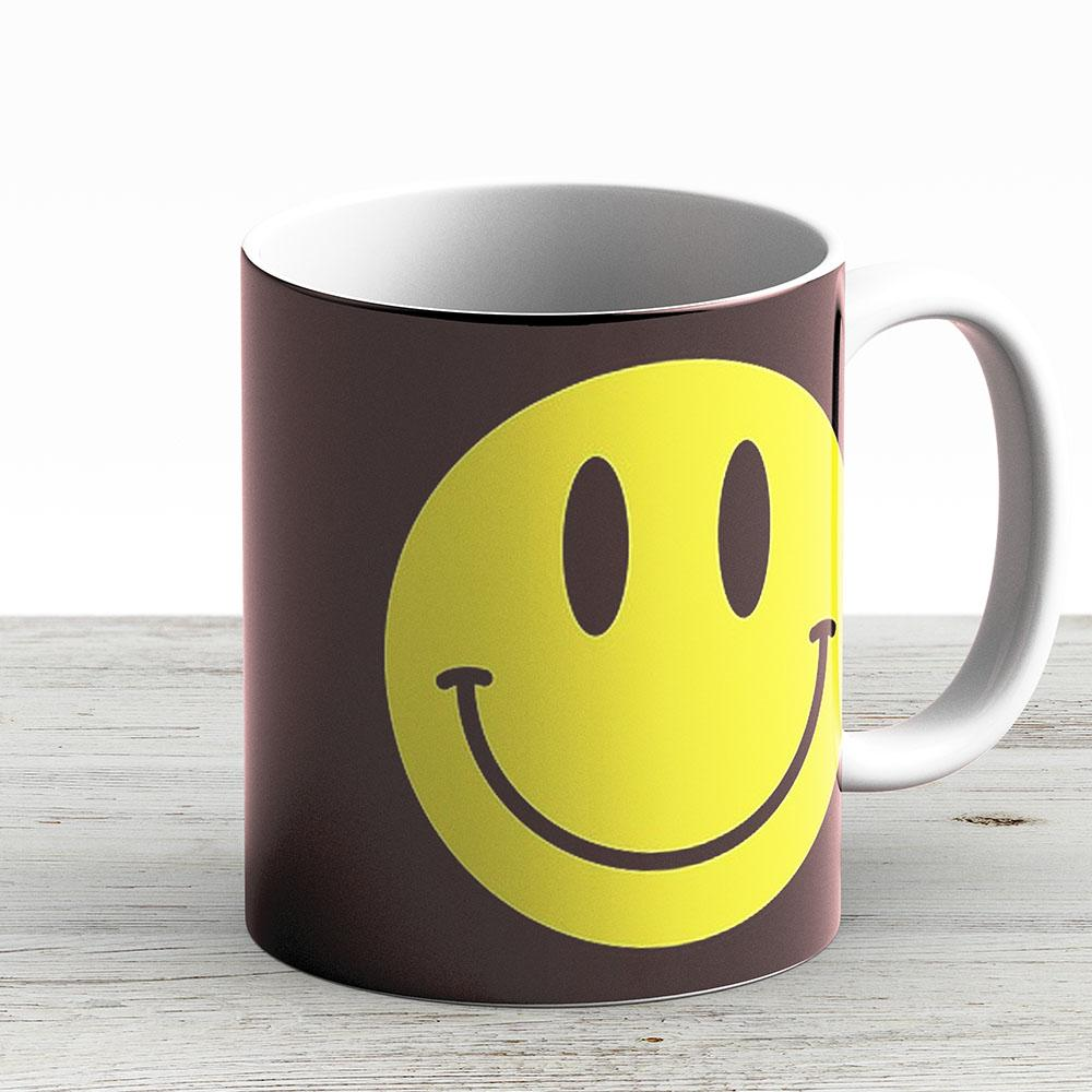 Smiley Face Emoji - Ceramic Coffee Mug - Gift Idea For Family And Friends