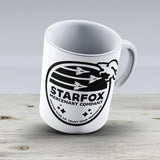 Star Fox Mercenary Patch - Ceramic Coffee Mug - Gift Idea For Family And Friends