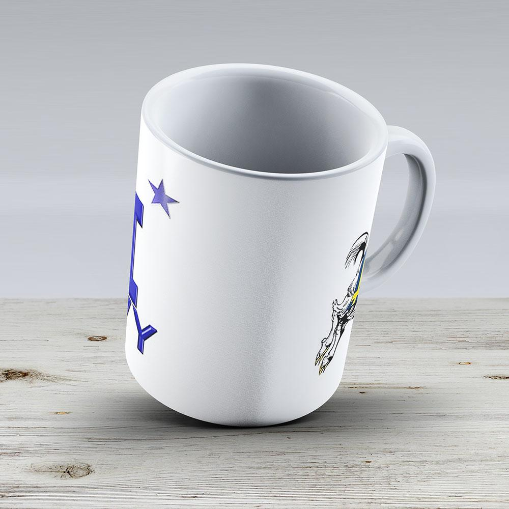 The Usna Rampaging Goat - Ceramic Coffee Mug - Gift Idea For Family And Friends