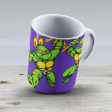 Tmnt Turtles In Time Snes - Ceramic Coffee Mug - Gift Idea For Family And Friends
