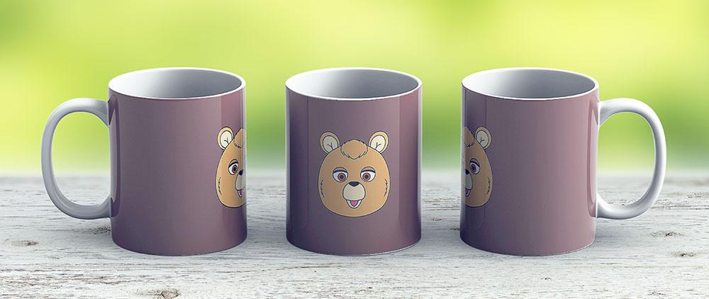 Teddy Ruxpin - Ceramic Coffee Mug - Gift Idea For Family And Friends